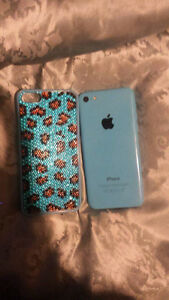 iPhone 5c with 4 cases