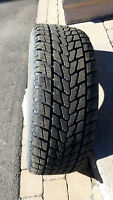 4 used winter tires in excellent condition 265/60R18