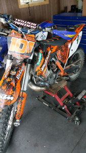 2014 ktm 250sx trade for diesl