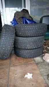 4x Yokohama Ice ON Rim 215/70 R15 450.00 OBO Kawartha Lakes Peterborough Area image 1