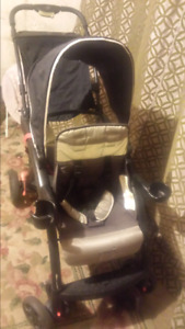 Double stroller safety first sit and stand