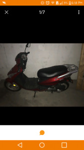 50 cc. gas scooter