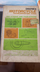 Chiltons Motorcycle Troubleshooting Guide 1973