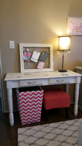 Gorgeous solid wood accent table