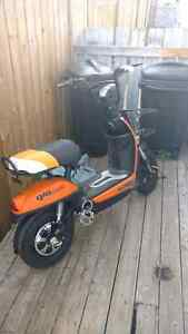 Gio rogue scooter (electric)