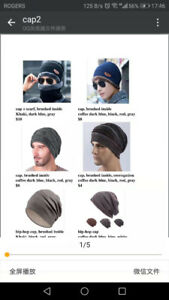Hats, scarfs and gloves! Popular and low price!
