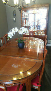 Beautiful all Rosewood 8 person dining set