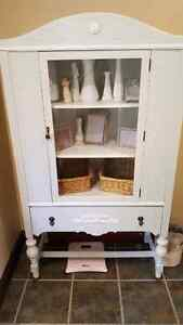 Refinished antique cupboard