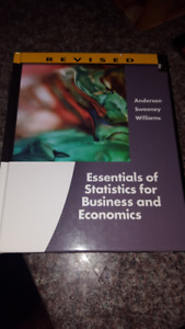 Essentials of Statistics for Business and Economics 6th Edition