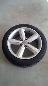 Audi A4 Winter Tire & Rim Package