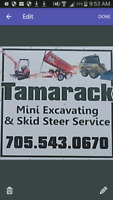 Mini Excavating and Skid steer Service