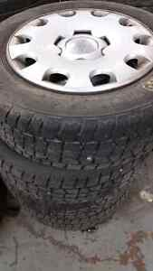 195 65 15 winter tires with wheel covers