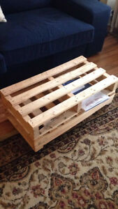 hand made pallet table