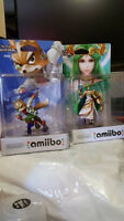 Amiibo Palutena and Fox