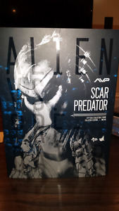 Scar Predator Hot Toys Movie Masterpiece  Figure