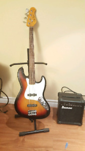 Jay Tuner Bass / Ibanez Amp/Stand/Case