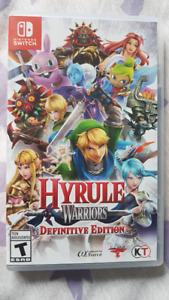 Hyrule Warriors (Definitive Edition) for Switch