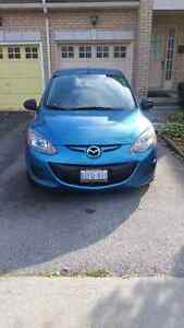 2011 MAZDA 2 , AUTOMATIC WITH A/C, PW, LOCKS AND MIRRORS