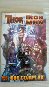 Marvel Thor & Iron Man God Complex Graphic Novel Hardcover