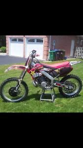 2001 cr250 ownership