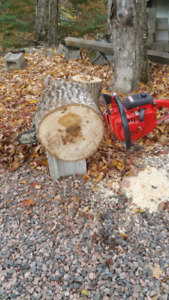 "HD Chainsaw with 20"" Bar, Homelite Super XL Model, Works Great"