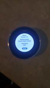 Nest 2nd generation thermostat used