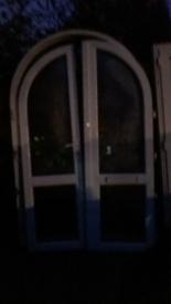 Reclaimed PVC Door