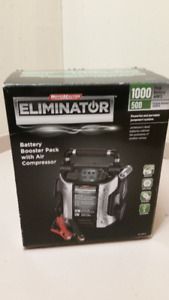 Eliminator 1000A Battery Booster with Air Compressor-NEW