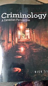 Criminology: A Canadian Perspective 8th Edition