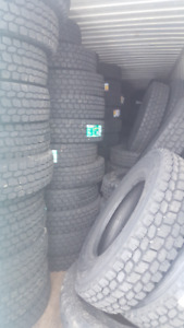 New Semi Trailer and Drive Tires