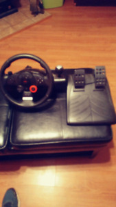 Logitech force GT steering wheel