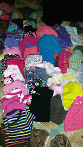 6 to 9 months - All u need for baby girl is in this lot