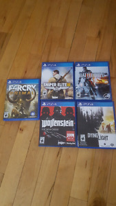 Games for sale.
