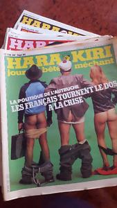 Magazines Hara Kiri