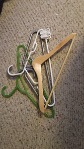 Various kind of hangers (stack of 20)
