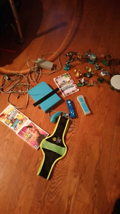 Nintendo wii + accessories and games