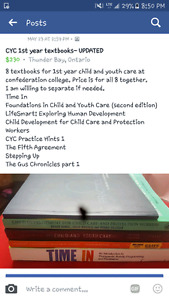 Child youth care 1st year textbooks
