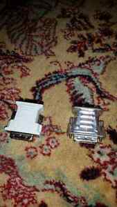 2 DVI TO VGA ADAPTERS - LOOK BRAND NEW Kitchener / Waterloo Kitchener Area image 2