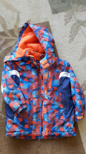 boys winter jacket size 5/6T