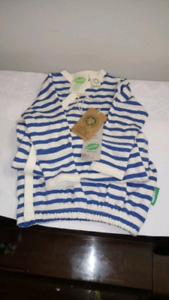 NEW Parade Organic Cotton Infant Nightgown.