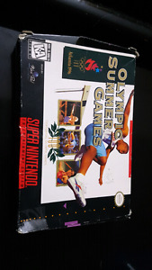 Super nes Olympic summer games