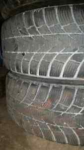 Winter tires 5x100 bolt pattern.  195/65r15  Cambridge Kitchener Area image 1