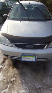 2007 ford focus licenced and inspected