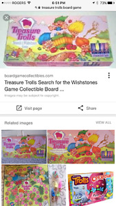 TREASURE TROLLS BOARD GAME