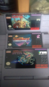Will buy all snes games