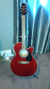 Takamine Electric Acoustic Guitar.