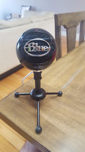 Brand new (2 weeks) lightly used Snowball microphone by Blue