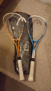 Squash Racquet Set with 2 balls - Head