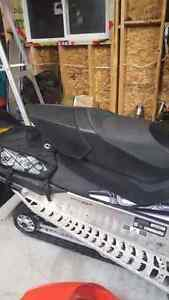 Skidoo xp seat and trunk