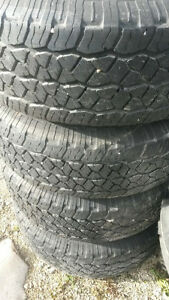 265/70/17 BFGoodrich Rugged Trail T/A Tires